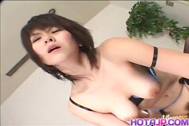 Handsome milf has an orgasm on cam.